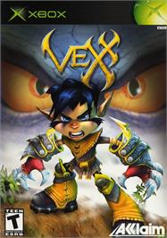 Box cover for Vexx on the Microsoft Xbox.