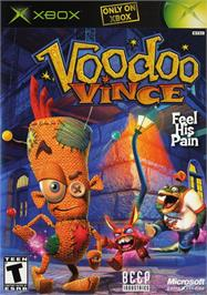 Box cover for Voodoo Vince on the Microsoft Xbox.