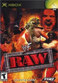 Box cover for WWF Raw on the Microsoft Xbox.