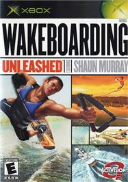 Box cover for Wakeboarding Unleashed featuring Shaun Murray on the Microsoft Xbox.