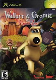 Box cover for Wallace & Gromit in Project Zoo on the Microsoft Xbox.