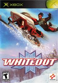 Box cover for Whiteout on the Microsoft Xbox.