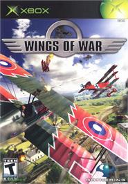 Box cover for Wings of War on the Microsoft Xbox.