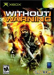 Box cover for Without Warning on the Microsoft Xbox.