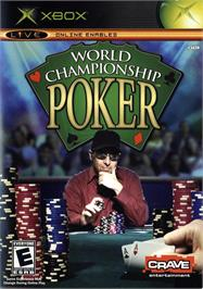 Box cover for World Championship Poker on the Microsoft Xbox.