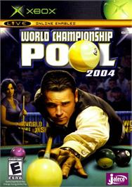 Box cover for World Championship Pool 2004 on the Microsoft Xbox.