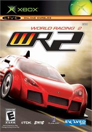 Box cover for World Racing 2 on the Microsoft Xbox.