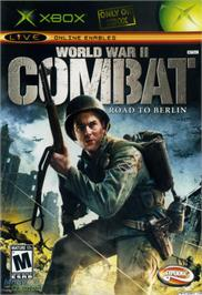 Box cover for World War II Combat: Road to Berlin on the Microsoft Xbox.