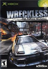 Box cover for Wreckless: The Yakuza Missions on the Microsoft Xbox.