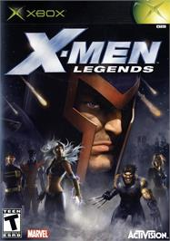 Box cover for X-Men: Legends on the Microsoft Xbox.