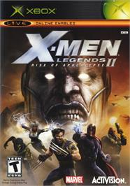 Box cover for X-Men: Legends II - Rise of Apocalypse on the Microsoft Xbox.