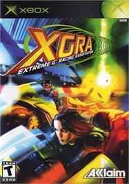Box cover for XGRA: Extreme G Racing Association on the Microsoft Xbox.