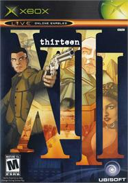 Box cover for XIII on the Microsoft Xbox.