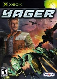 Box cover for Yager on the Microsoft Xbox.