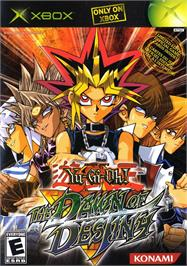 Box cover for Yu-Gi-Oh!: The Dawn of Destiny on the Microsoft Xbox.