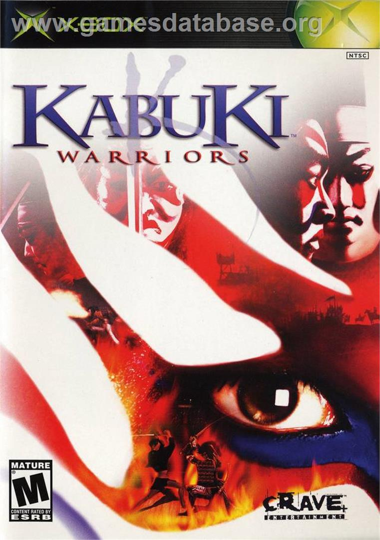 Kabuki Warriors - Microsoft Xbox - Artwork - Box