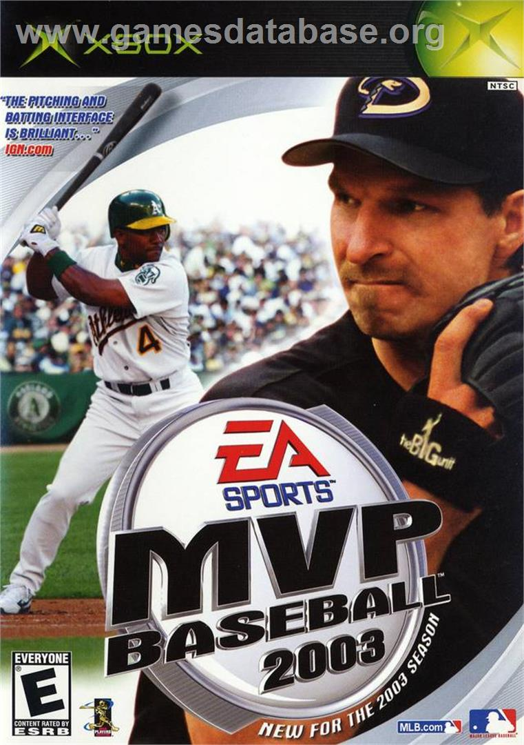 MVP Baseball 2003 - Microsoft Xbox - Artwork - Box