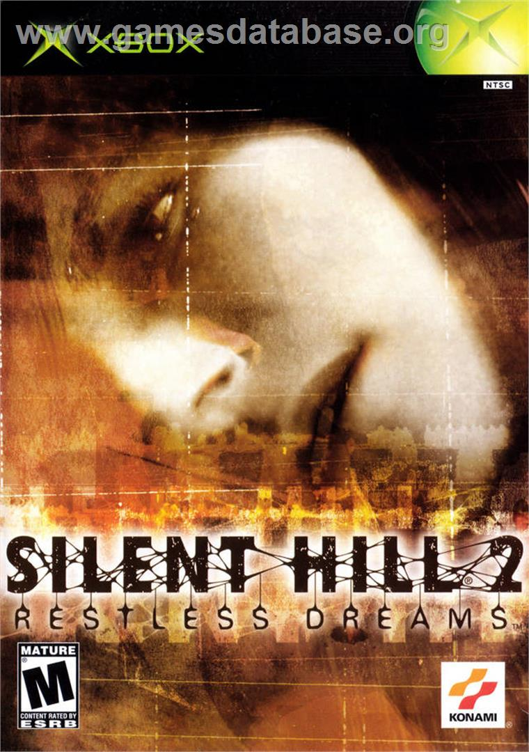 Silent Hill 2: Restless Dreams - Microsoft Xbox - Artwork - Box