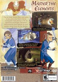 Box back cover for Avatar: The Last Airbender on the Microsoft Xbox.