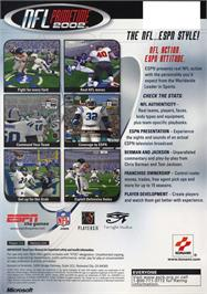 Box back cover for ESPN NFL Primetime 2002 on the Microsoft Xbox.
