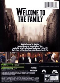 Box back cover for Godfather (Limited Edition) on the Microsoft Xbox.