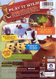 Box back cover for Open Season on the Microsoft Xbox.