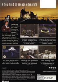Box back cover for Prisoner of War on the Microsoft Xbox.