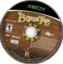 Artwork on the CD for Bard's Tale on the Microsoft Xbox.