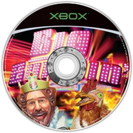 Artwork on the CD for Big Bumpin' on the Microsoft Xbox.