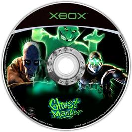 Artwork on the CD for Ghost Master: The Gravenville Chronicles on the Microsoft Xbox.