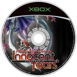 Artwork on the CD for Innocent Tears on the Microsoft Xbox.