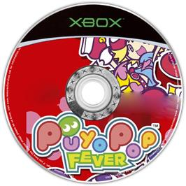 Artwork on the CD for Puyo Pop Fever on the Microsoft Xbox.