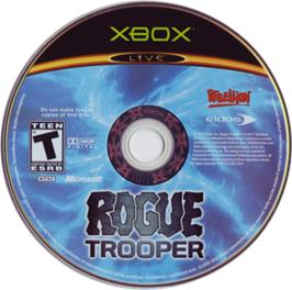 Artwork on the CD for Rogue Trooper on the Microsoft Xbox.