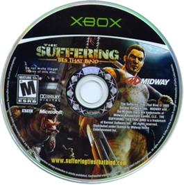 Artwork on the CD for Suffering:  Ties That Bind on the Microsoft Xbox.