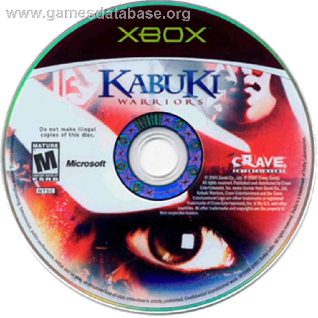 Kabuki Warriors - Microsoft Xbox - Artwork - CD