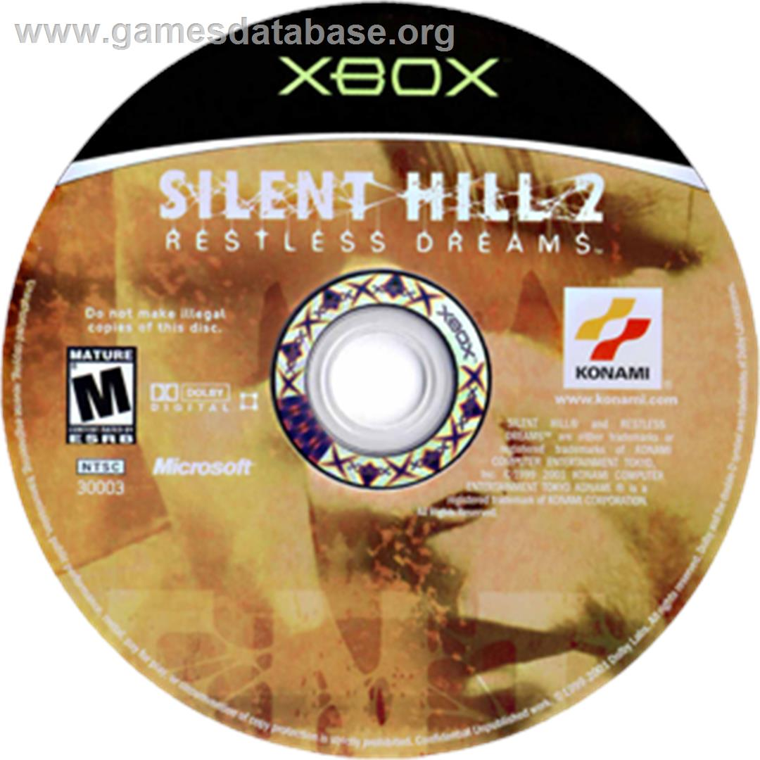 Silent Hill 2: Restless Dreams - Microsoft Xbox - Artwork - CD