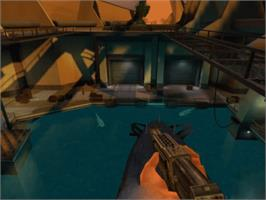 In game image of 007: Agent Under Fire on the Microsoft Xbox.