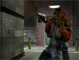 In game image of 50 Cent: Bulletproof on the Microsoft Xbox.