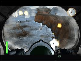 In game image of Armed and Dangerous on the Microsoft Xbox.