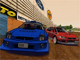 In game image of Auto Modellista on the Microsoft Xbox.