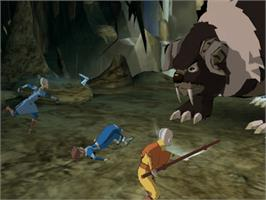 In game image of Avatar: The Last Airbender on the Microsoft Xbox.