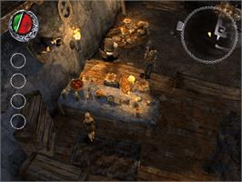 In game image of Bard's Tale on the Microsoft Xbox.