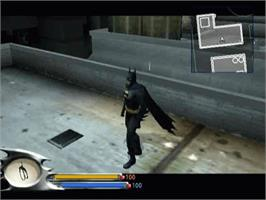 In game image of Batman: Dark Tomorrow on the Microsoft Xbox.
