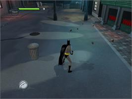 In game image of Batman: Rise of Sin Tzu on the Microsoft Xbox.