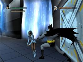 In game image of Batman: Vengeance on the Microsoft Xbox.