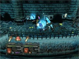 In game image of Black Stone: Magic & Steel on the Microsoft Xbox.