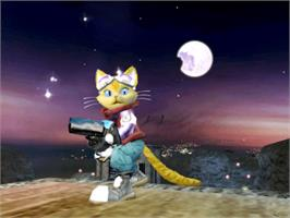 In game image of Blinx 2: Masters of Time and Space on the Microsoft Xbox.