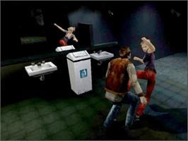 In game image of Buffy the Vampire Slayer on the Microsoft Xbox.