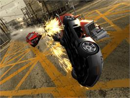 In game image of Burnout Revenge on the Microsoft Xbox.