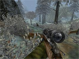 In game image of Cabela's Dangerous Hunts on the Microsoft Xbox.